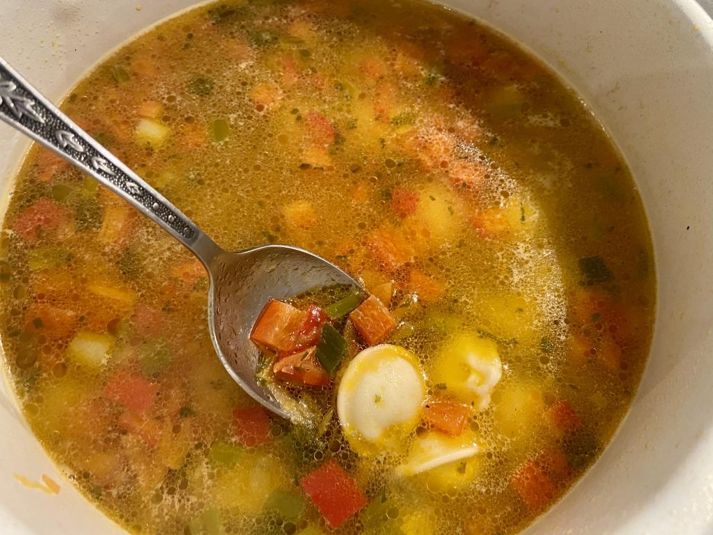 пелмени-супа
