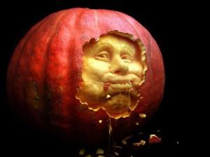 хелоуин карвинг на тиква